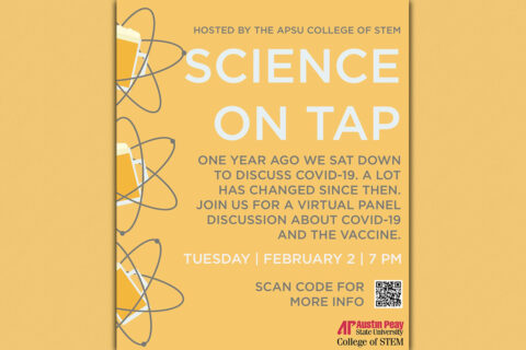 Austin Peay State University's Science On Tap goes virtual February 2nd. (APSU)