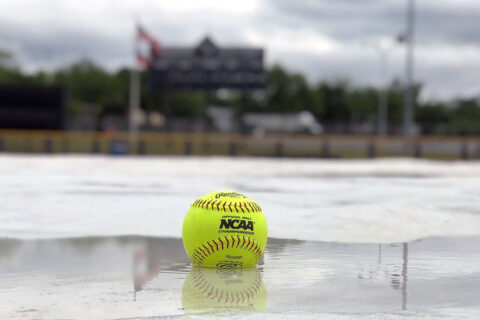 Austin Peay State University Softball game canceled due to rain. (APSU)