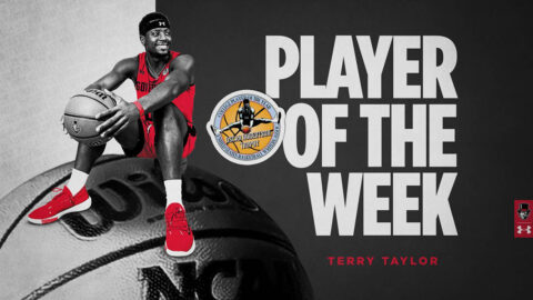 Austin Peay State University Men's Basketball senior Terry Taylor named USBWA National Player of the Week. (APSU Sports Information)