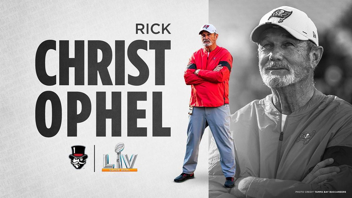 Austin Peay State University alumnus Rick Christophel set for Super Bowl stage this Sunday. (APSU Sports Information)