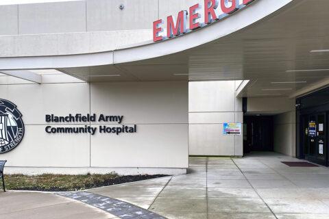 Blanchfield Army Community Hospital Emergency Center entrance. (U.S. Army)