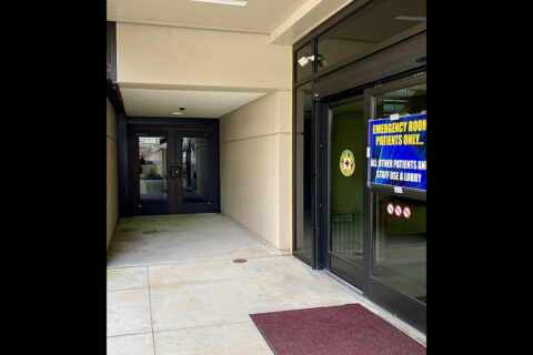 Blanchfield Army Community Hospital's Young Eagle Medical Home, the hospital's pediatric clinic for patients ages birth through 17, returns to its original location within the hospital's C Building, Feb. 16. The C Entrance remains closed, however all patients with appointments to a medical service in the hospital's B or C Buildings can enter the hospital through the double doors beside the Emergency Center entrance beginning Feb. 16 for easier access to their medical appointment. (U.S. Army)