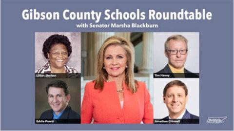 Marsha Blackburn Gibson County Roundtable