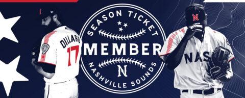 Nashville Sounds Season Ticket Memberships. (Nashville Sounds)