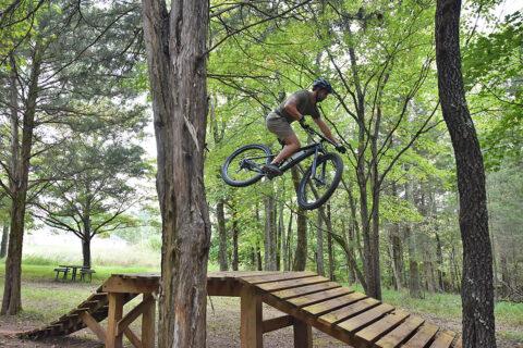 North Ford Street Mountain Bike Park. (Visit Clarksville)