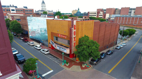 The Roxy Regional Theatre located at 100 Franklin Street in Clarksville.