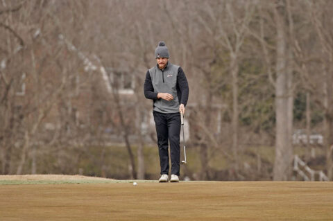 Austin Peay State University Men's Golf senior Alex Vegh shoots final round 71 at Bobby Nichols Intercollegiate. (APSU Sports Information)