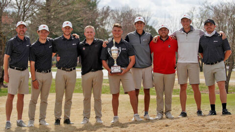 Austin Peay State University Men's Golf sweeps match play Monday against Western Kentucky. (APSU Sports Information)