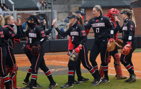 Austin Peay State University Softball is on the road this weekend for three-game series against Eastern Illinois. (Robert Smith, APSU Sports Information)