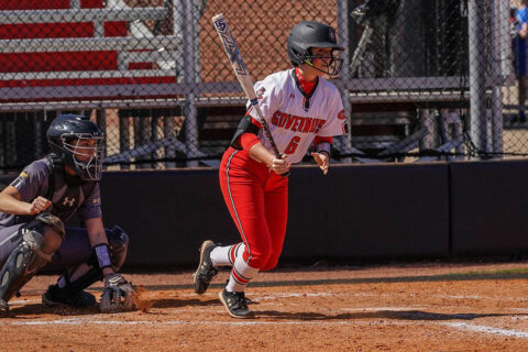 Austin Peay State University Softball loses pair of games to Eastern Kentucky on the road, Saturday. (APSU Sports Information)