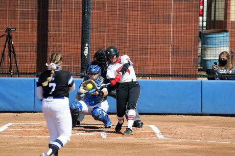 Austin Peay State University Softball senior Brett Jackson had 3 hits and 1 RBI in win over Eastern Illinois, Sunday. (APSU Sports Information)