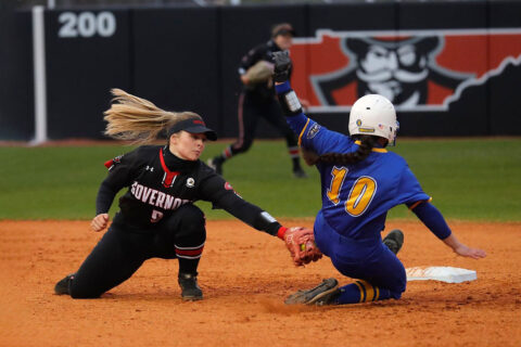 Austin Peay State University Softball travels to Murray State for an OVC Doubleheader, Wednesday. (Robert Smith, APSU Sports Information)