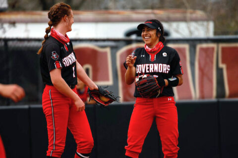 Austin Peay State University Softball's offense explodes as Govs sweep series versus Bruins. (APSU Sports Information)