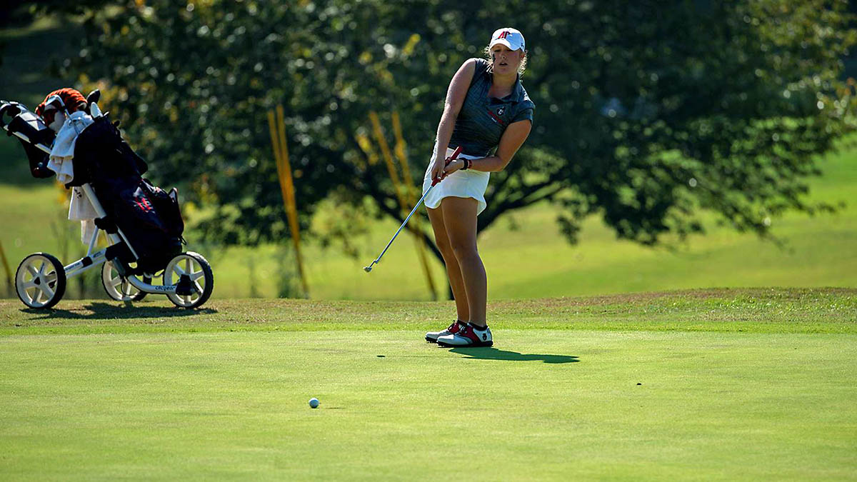 Austin Peay State University Women's Golf continues play at Bobby Nichols Intercollegiate, Monday. (APSU Sports Information)