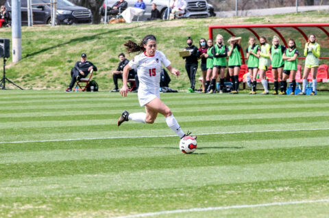 Austin Peay State University Soccer takes on Belmont at E.S. Rose Park in Nashville, Tuesday. (APSU Sports Information)