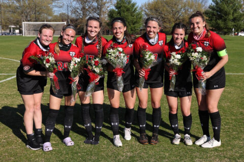 Austin Peay State University Soccer's Senior Day was held Friday at Morgan Brothers Field. (APSU Sports Information)