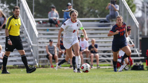 Austin Peay State University Soccer succumbs to a pair of late goals by UT Martin in 2-0 loss Tuesday. (APSU Sports Information)