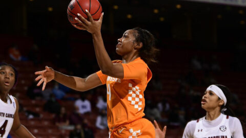 Slow start costly for Tennessee Women's Basketball in loss to South Carolina in semifinal round of SEC Tournament. (UT Athletics)