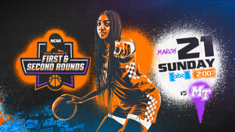Tennessee Women's Basketball takes on Middle Tennessee in the First Round of the NCAA Tournament, Sunday. (UT Athletics)