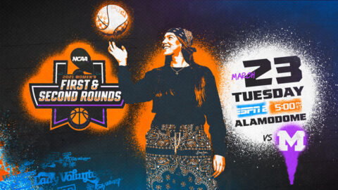 Tennessee Women's Basketball plays Michigan Tuesday afternoon in NCAA Tournament Second Round. (UT Athletics)