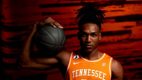 Tennessee Men's Basketball plays Alabama today in SEC Tournament Semifinals. (UT Athletics)