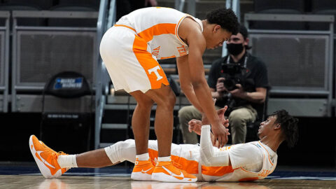 Tennessee Men's Basketball falls in NCAA Tournament Opening Round to Oregon State, 70-56. (UT Athletics)