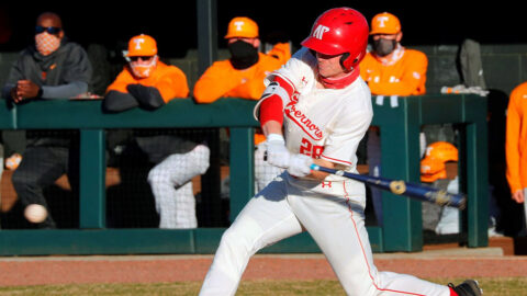 Austin Peay State University Baseball returns to the road this weekend with visit to Louisiana to take on Northwestern State. (Robert Smith, APSU Sports Information)