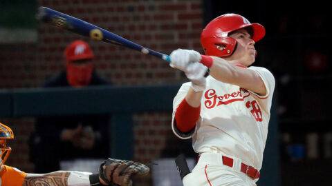 Austin Peay State University Baseball unable to get the bats going against Northwestern State, Saturday. (APSU Sports Information)