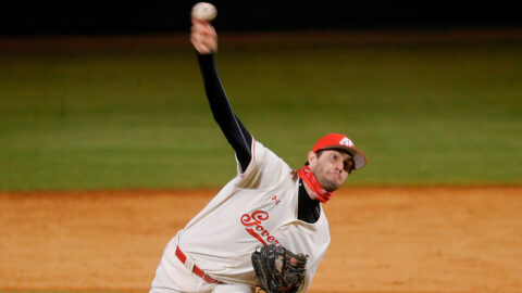 Austin Peay State University Baseball gets extra inning win over Northwestern State, Sunday. (APSU Sports Information)