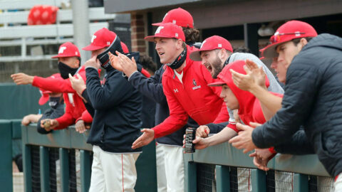 Austin Peay State University Baseball takes on Middle Tennessee in four game series at Raymond C. Hand Park starting Tuesday. (Robert Smith, APSU Sports Information)