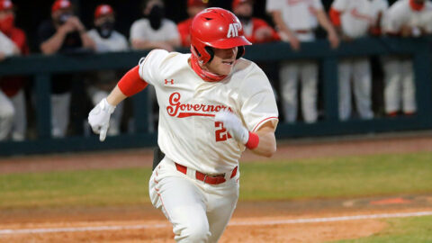 Austin Peay State University Baseball beats Bellarmine on the road Wednesday, 9-1. (Robert Smith, APSU Sports Information)