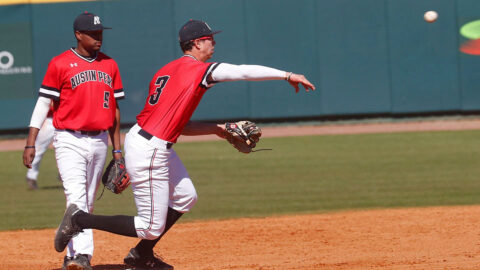 Austin Peay State University Baseball plates seven runs in final two innings to defeat Army, Sunday. (APSU Sports Information)