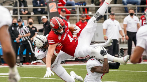 Austin Peay State University Football gets 13-10 road win over Jacksonville State, Sunday. (APSU Sports Information)