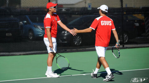 Austin Peay State University Men's Tennis plays make up game against Chattanooga at home, Tuesday. (APSU Sports Information)