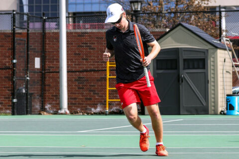 Austin Peay State University Men's Tennis falls to Chattanooga, 6-1. (APSU Sports Information)