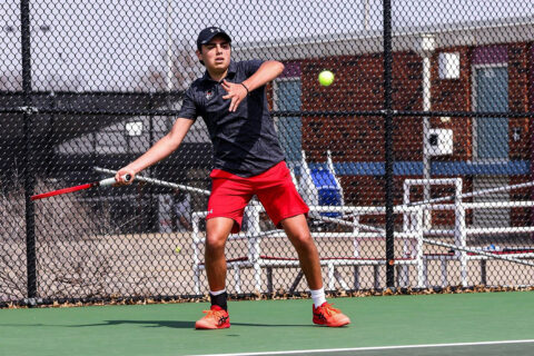 Austin Peay State University Men's Tennis drops 5-2 match to Saint Louis in Evansville, Saturday. (APSU Sports Information)