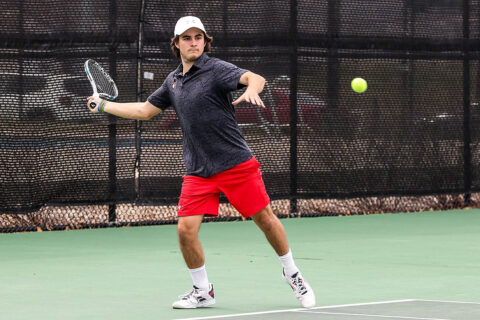 Austin Peay State University Men's Tennis loses home opener to Jacksonville State. (APSU Sports Information)