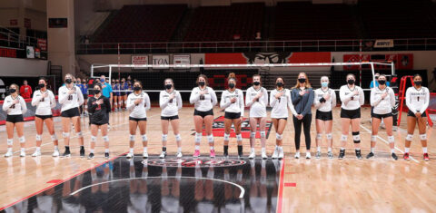 Austin Peay State University Volleyball plays Murray State at the Dunn Center Sunday and Monday. (APSU Sports Information)