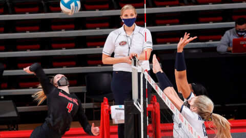 Austin Peay State University Volleyball loses at Southeast Missouri, Sunday. (APSU Sports Information)