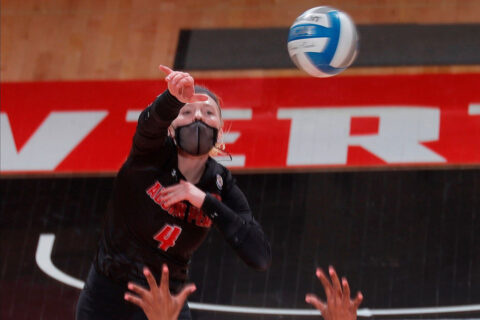 Austin Peay State University Volleyball falls in five sets to Southeast Missouri. (APSU Sports Information)