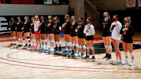Austin Peay State University Volleyball closes OVC regular season at UT Martin, Sunday. (Robert Smith, APSU Sports Information)