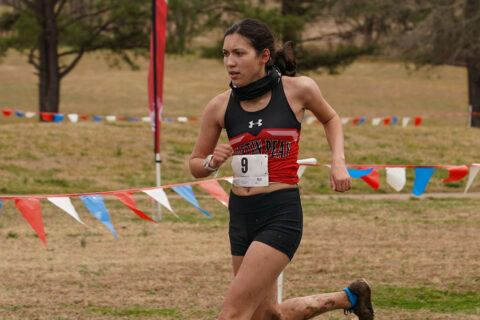 Austin Peay State University Women's Cross Country junior Sara Martin placed 31st overall at OVC Championships, Tuesday. (APSU Sports Information)