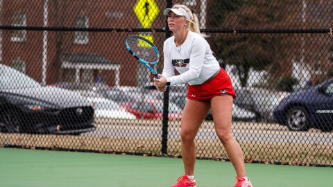 Austin Peay State University Women's Tennis plays Western Kentucky at the Governors Tennis Courts, Friday. (APSU Sports Information)