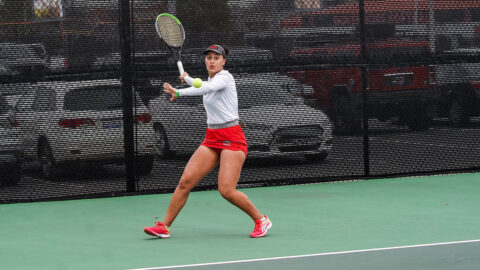 Austin Peay State University Women's Tennis takes down Western Kentucky 6-1 for third straight win. (APSU Sports Information)