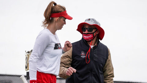 Austin Peay State University Women's Tennis takes down North Alabama 4-1, Saturday. (APSU Sports Information)