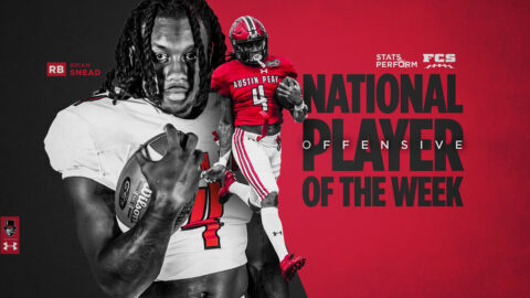 Austin Peay State University Football's Brian Snead earns FCS National Player of the Week Honors. (APSU Sports Information)