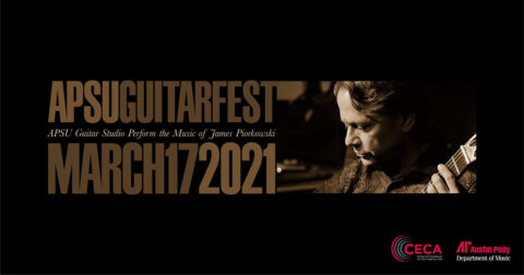 Austin Peay State University GuitarFest 2021 to feature livestream performances honoring James Piorkowski's music. (APSU)