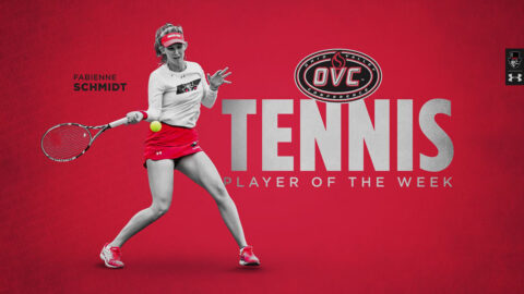Austin Peay State University's Fabienne Schmidt named OVC Women's Tennis Player of the Week. (APSU Sports Information)