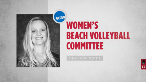 Austin Peay State University Volleyball coach Taylor Mott selected for NCAA Beach Volleyball Committee. (APSU)
