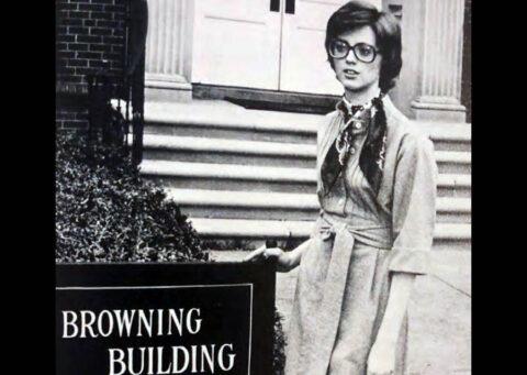 Maggie (Warner) Kulback at APSU in 1975. (APSU)